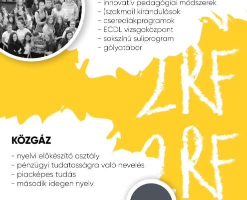 2 Rákoczi Ferenc Technikum beiratkozás szórólap